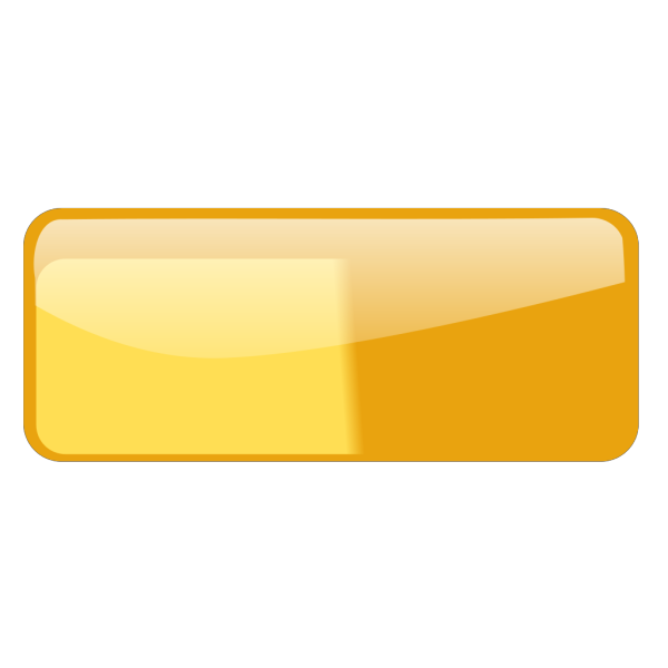 Glossy Rounded Rectangular Button Without Text PNG Clip art