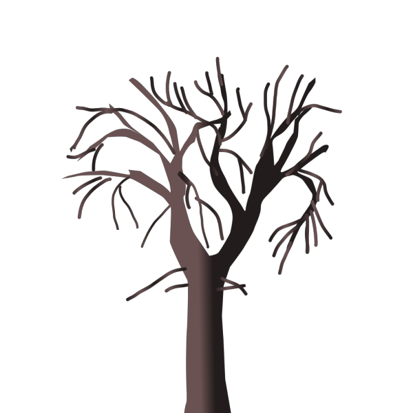 Brown Tree Bare PNG Clip art