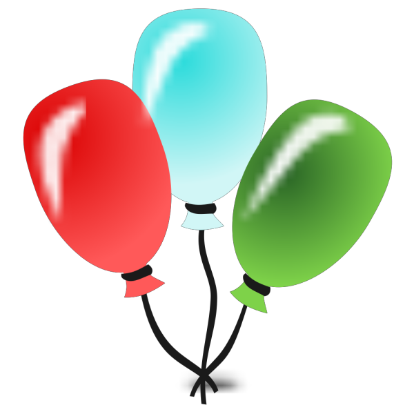 Balloons PNG icons