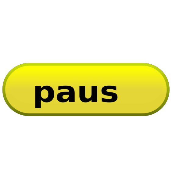 Yellow Pause Button
