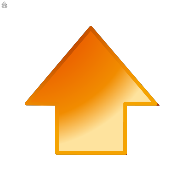 Up Glossy Arrow PNG Clip art