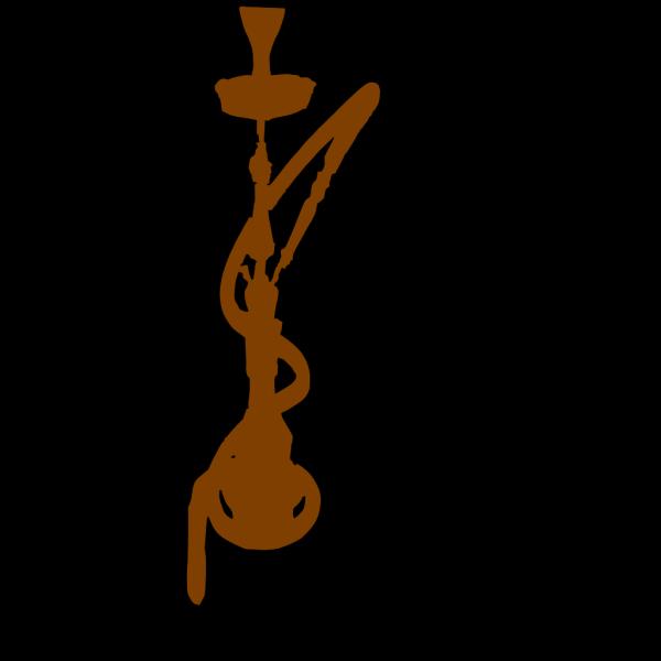 Brown Hookah PNG Clip art