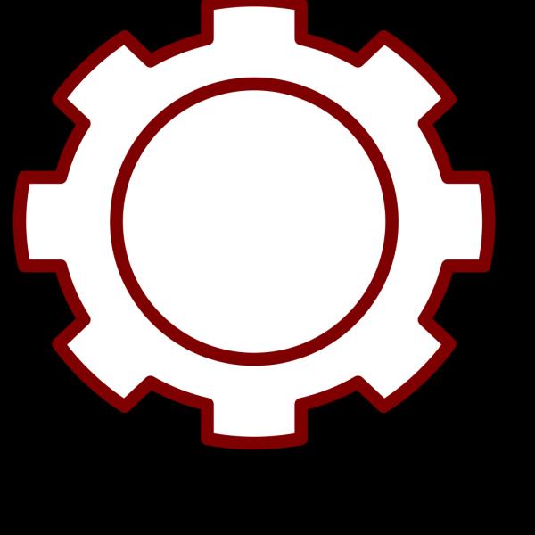 Light Brown Gear PNG Clip art