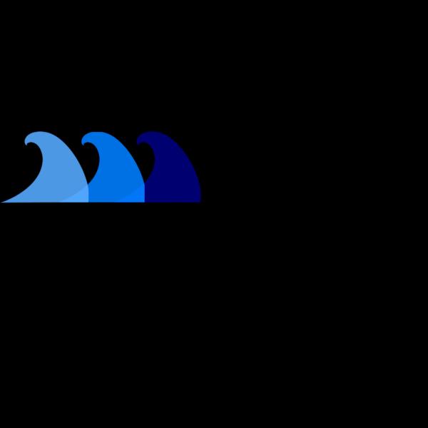 Blue Waves PNG Clip art