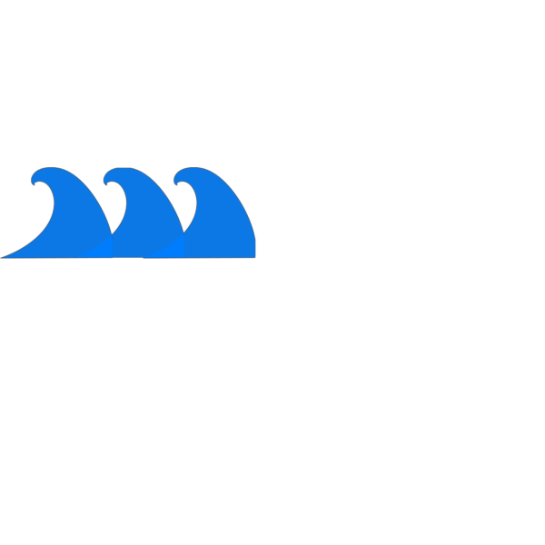 Blue Wave PNG icons