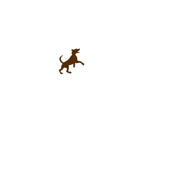 Brown Dog Jumping PNG Clip art