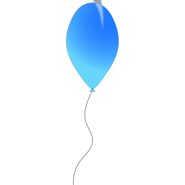 Blue Balloon PNG icons