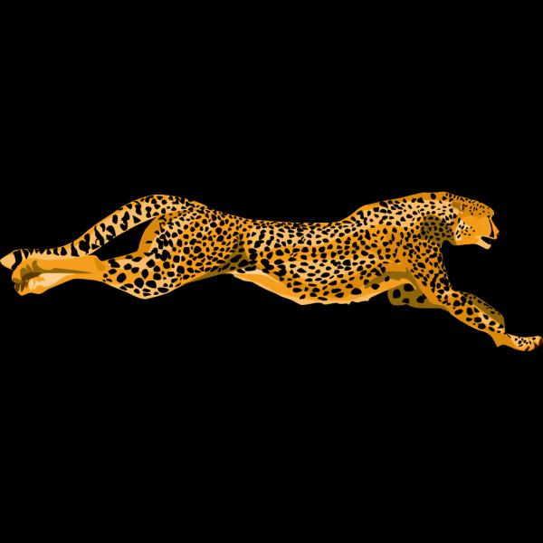 Running Cheetah PNG Clip art