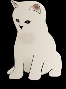 Sitting Kitten PNG Clip art