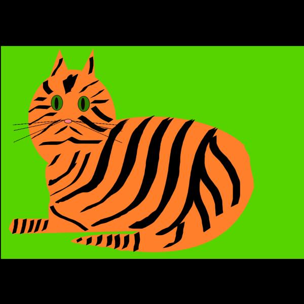 Tiger Cat PNG Clip art