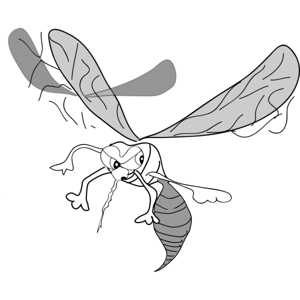 Cartoon Mosquito PNG Clip art