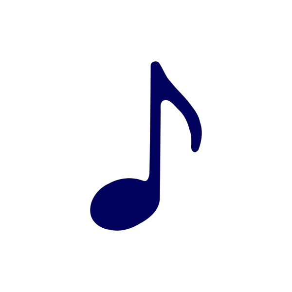 Black Eighth Note PNG Clip art