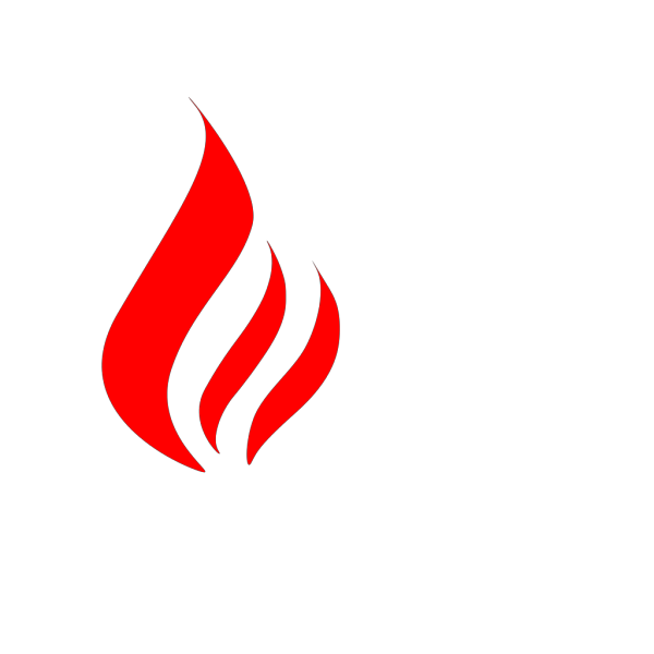 Black To Red Flame PNG Clip art