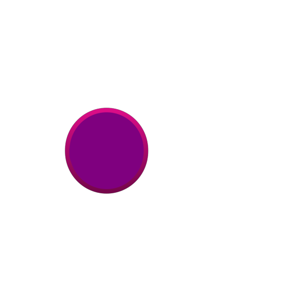 Glossy Purple Circle Button PNG Clip art
