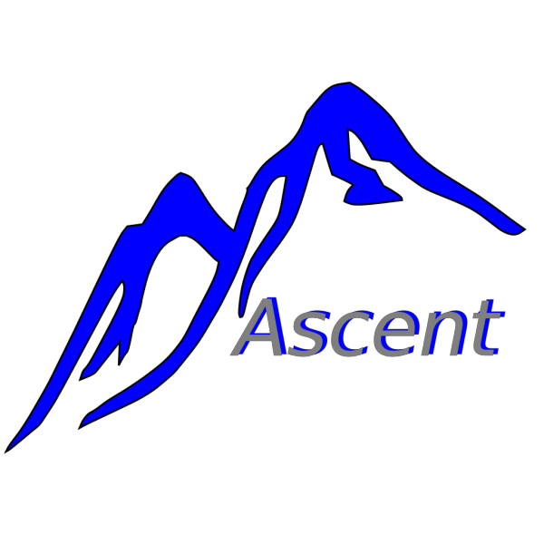 Blue Topped Mountain  PNG Clip art