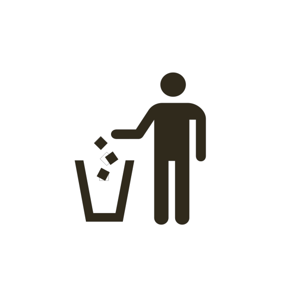 Do Not Litter PNG icons