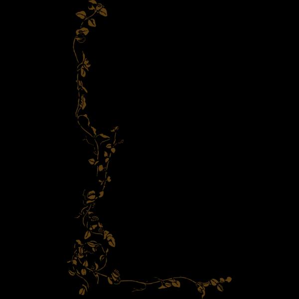 Blue Brown Border PNG Clip art