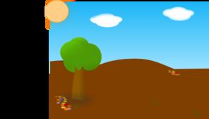 Landscape Drought PNG Clip art
