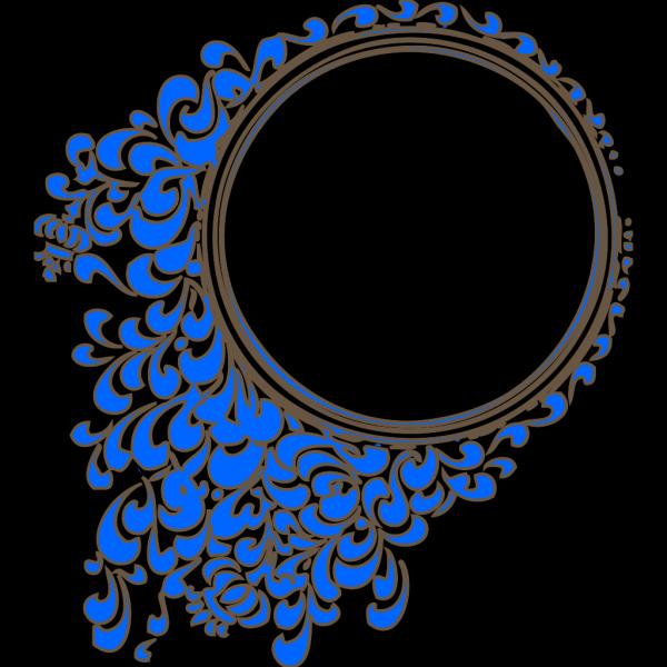 Oval Frame PNG Clip art