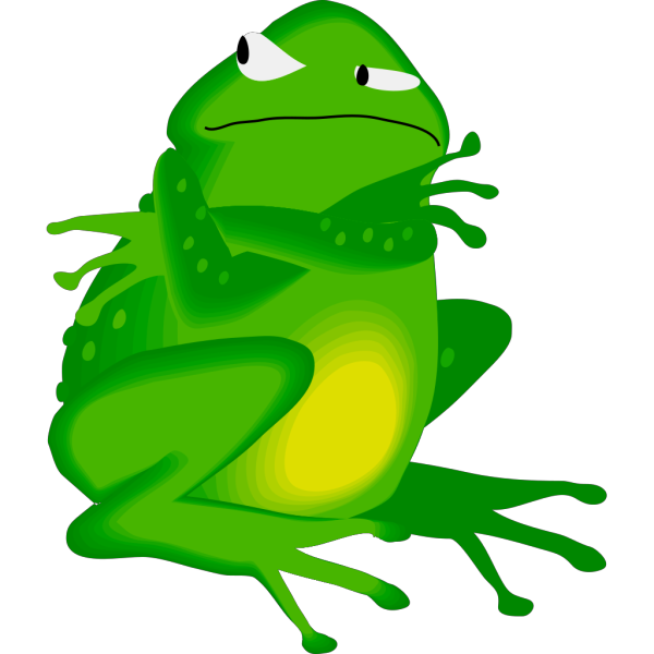 Grumpy Frog PNG icons