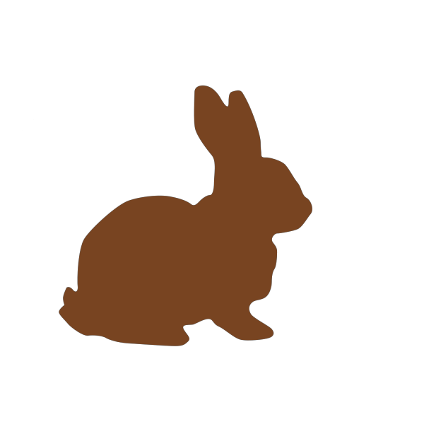 Chocolate Easter Bunny PNG Clip art