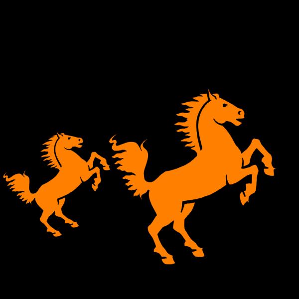 Orange Silhouette PNG Clip art