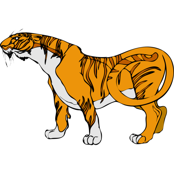 Cartoon Tiger PNG Clip art