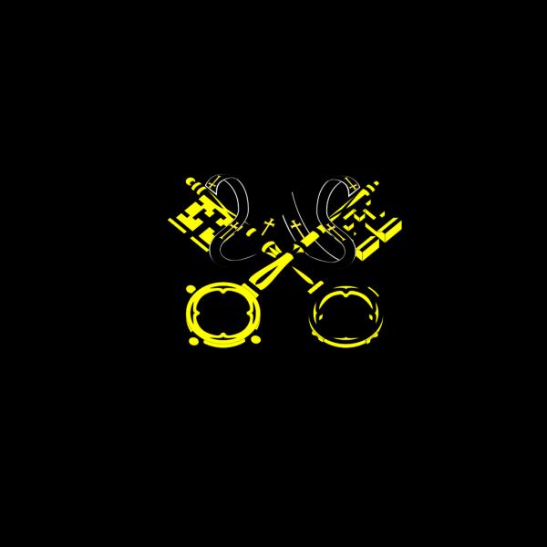 White Key PNG Clip art
