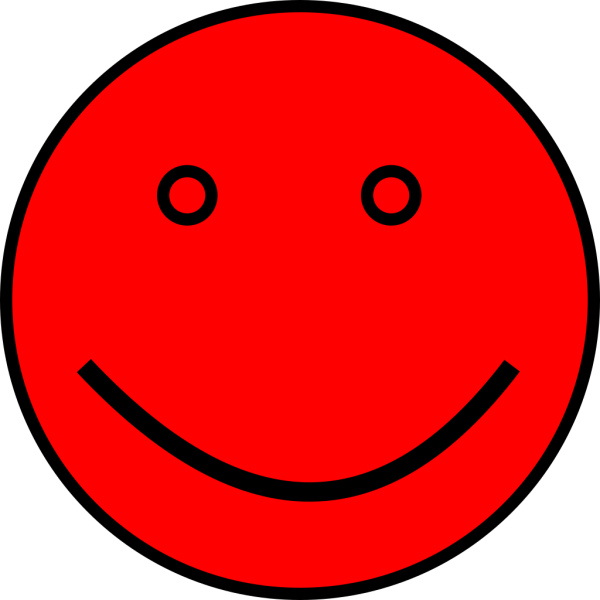 Black Man Red Face PNG Clip art