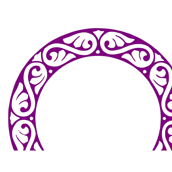 Swirl Dmask Monogram 2 PNG images