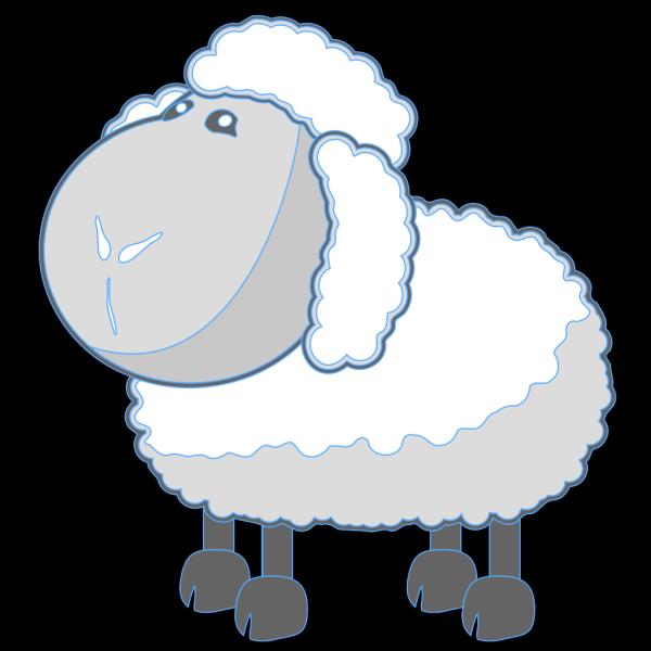 Lamb Blue PNG Clip art