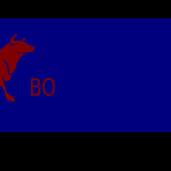 Blue Scroll Banner PNG Clip art