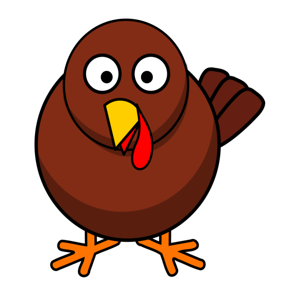 Turkey Round Cartoon PNG images
