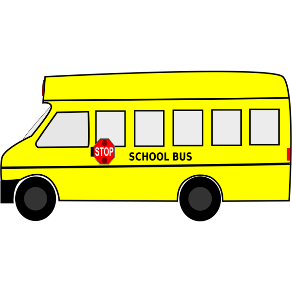 Brown School Bus PNG Clip art