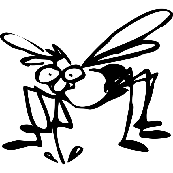 Mosquito Drawing PNG images
