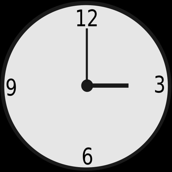 Clock Black PNG Clip art