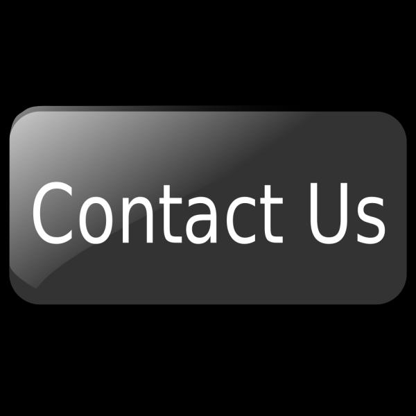 Contact Us Black Button PNG Clip art