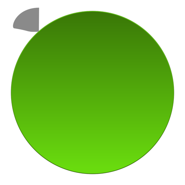 Green Add Update Button PNG Clip art