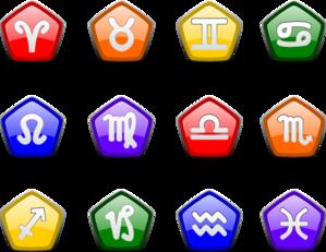 Zodiac Icons PNG Clip art