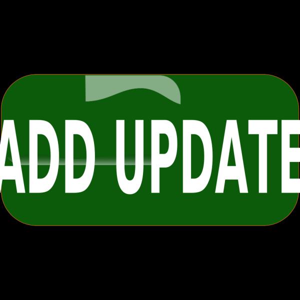 Dark Green Add Update Rectangle Button PNG Clip art