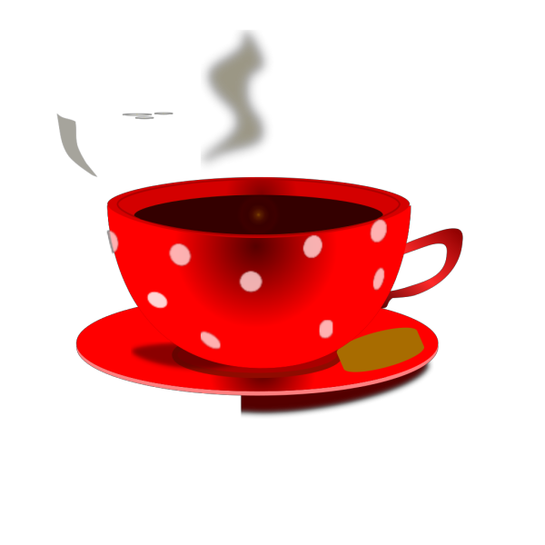 Mokush Realistic Coffee Cup Top View PNG Clip art
