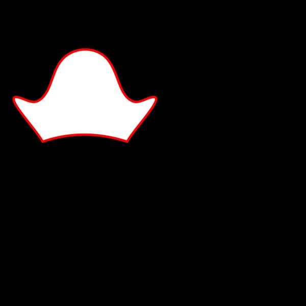 Brown Pirate Hat PNG Clip art