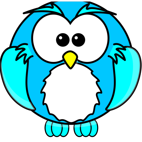 Blue Owlette PNG Clip art