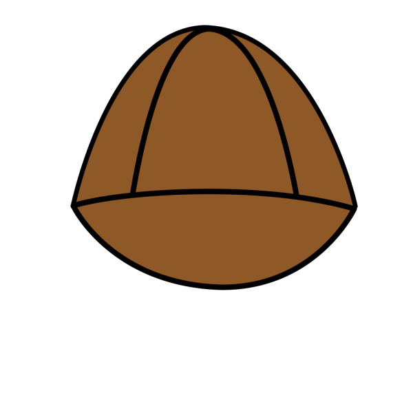 Plain Brown Hat PNG Clip art