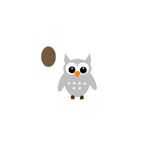 Brown Owl PNG Clip art