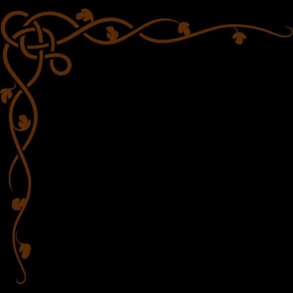 Pink Brown Scroll PNG Clip art