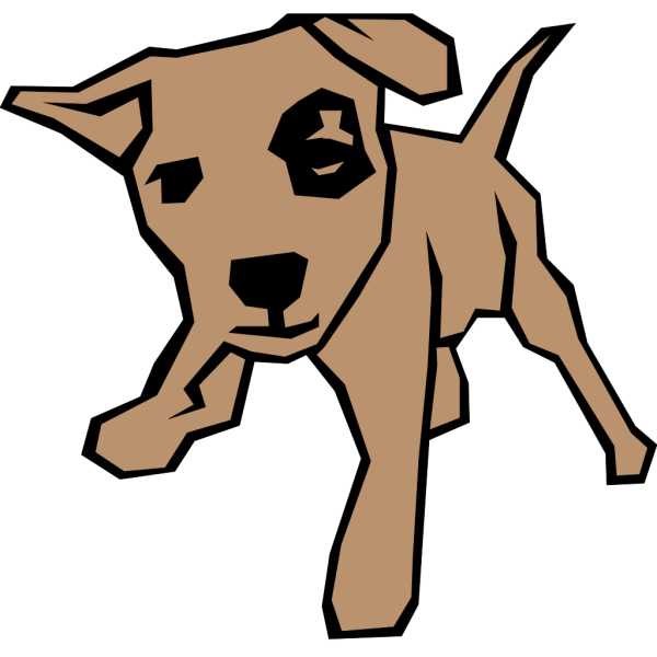 Browndog2 PNG Clip art