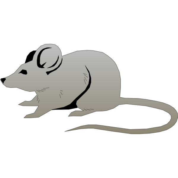 Gray Mouse PNG Clip art