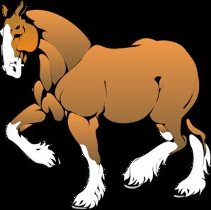 Muscular Horse PNG Clip art