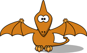 Studiofibonacci Cartoon Pterodactyl PNG Clip art